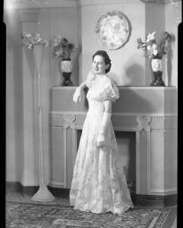 CH085 Mademoiselle Jodoin, 1940.