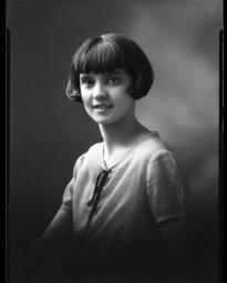 CH085 Mademoiselle Richer mariée à un monsieur Bonin, 1926.