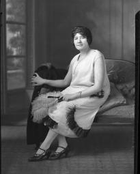 CH085 Irene Crépeau, 1924.