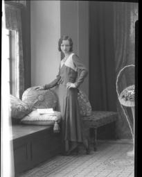 CH085 Mademoiselle Perreault, 1932.