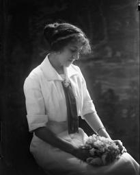CH085/001/002/0095 Femme inconnue, 1910.