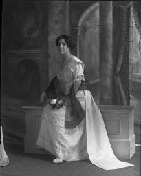 CH085 Femme inconnue, 1914.
