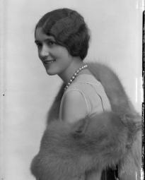 CH085 Mademoiselle Gaudette, 1930.