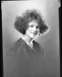 CH085 Mademoiselle Lorangé mariée à monsieur Donat Bouchard, 1920.
