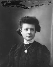 CH085/001/002/1321 Femme inconnue, 1905-1915.