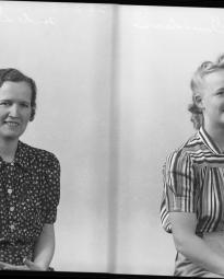 CH085 Madame et  mademoiselle  Davidson, 1940.