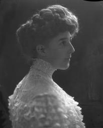 CH085/001/002/1313 Femme inconnue, 1905-1915.
