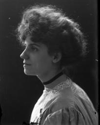 CH085/001/002/0101 Femme inconnue, 1910.