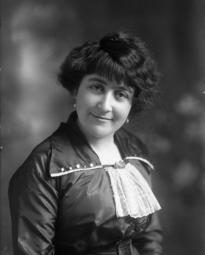CH085/001/002/0150 Femme inconnue, 1910.