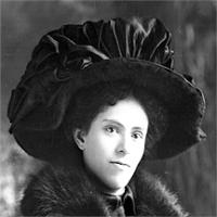 CH085/001/002/0074 Femme inconnue, 1910.