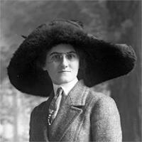 CH085/001/002/0117 Femme inconnue 1910.