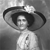 CH085 Femme inconnue vers 1905-1915.