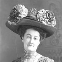 CH085 Madame Paul Fournier dentiste, vers 1905-1915.