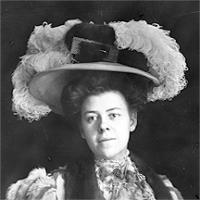 CH085/001/002/1301 Femme inconnue, vers 1905-1915.