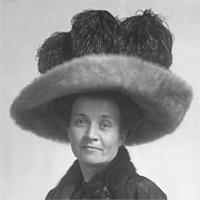 CH085/001/002/1335 Femme inconnue, 1905-1915.