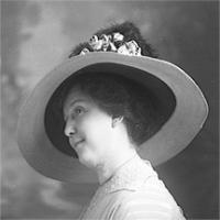 CH085/001/002/0128 Femme inconnue, 1910.