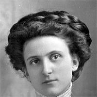 CH085/001/002/0068 Femme inconnue, 1910.
