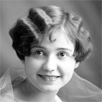 CH085 Gab. Lajeunesse mariée à M. Bernard, 1926.