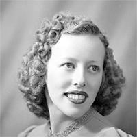 CH085 Madame Nault, 1940.