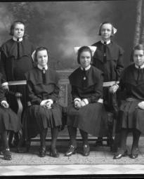 CH085 Groupe d'étudiantes, 1930.