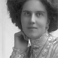 CH085/001/002/1297 Femme inconnue, 1905-1915.