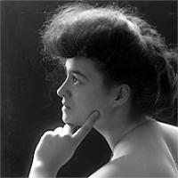 CH085/001/002/1312 Femme inconnue, 1905-1915.