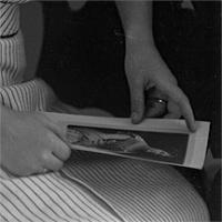 CH085/001/002/0085 Femme inconnue, 1910.