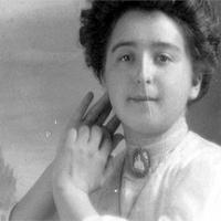 CH085/001/002/0069 Femme inconnue, 1910.