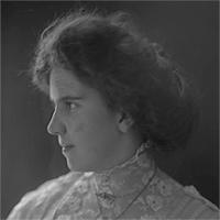CH085 Femme inconnue, vers 1905-1915.