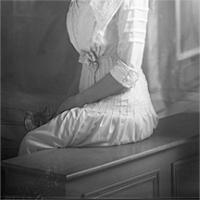 CH085/001/002/0054 Femme inconnue, 1905.