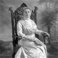 CH085/001/002/1340 Femme inconnue, 1905-1915.