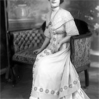 CH085/001/002/1310 Femme inconnue, 1905-1915.
