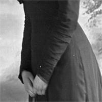 CH085/001/002/0072 Femme inconnue, 1910.